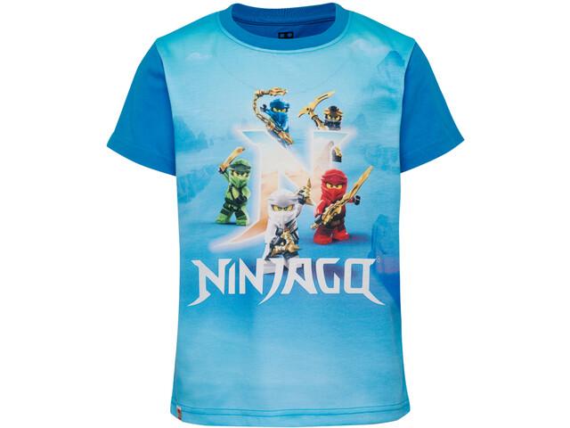 LEGO wear 51320 Koszula z krótkim rękawem Chłopcy, light blue
